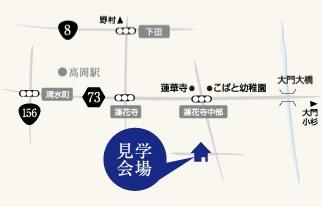 ミヤワキホーム蓮花寺map