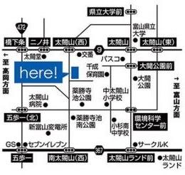 ワイケイホームモデルハウス地図