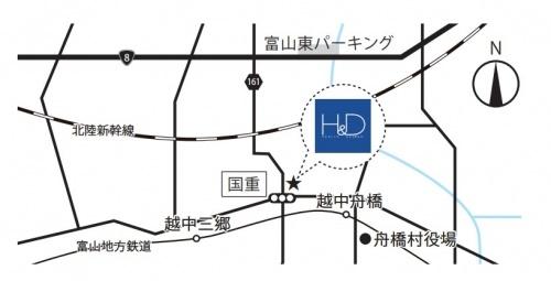 SHOEI 山を眺める家map