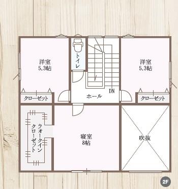 タカノホーム 大島完成見学会間取り2